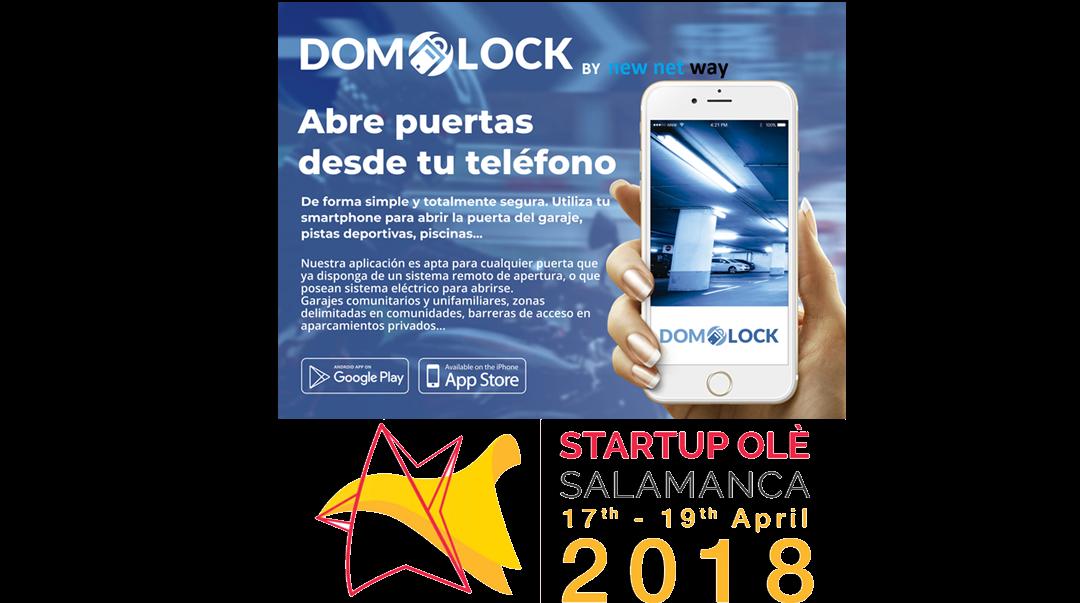 NEW NET WAY presenta DOMOLOCK en StartupOlé 2018