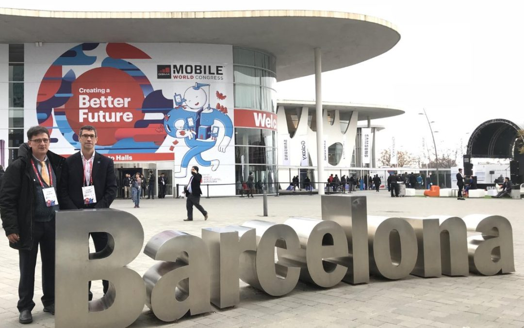 NEW NET WAY en el MWC2018.