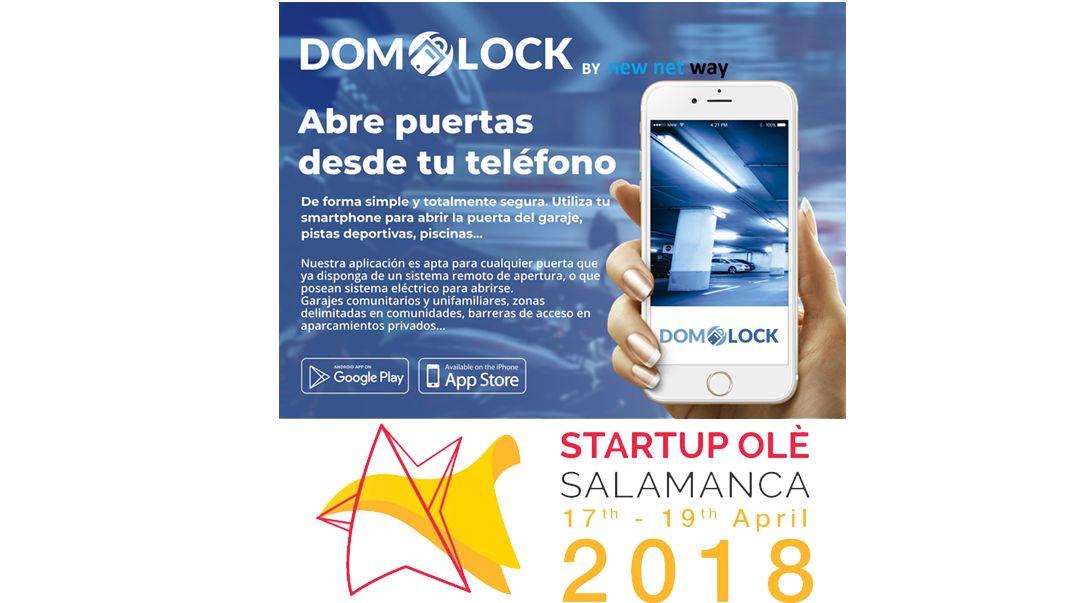NEW NET WAY presenta DOMOLOCK en StartupOlé 2018