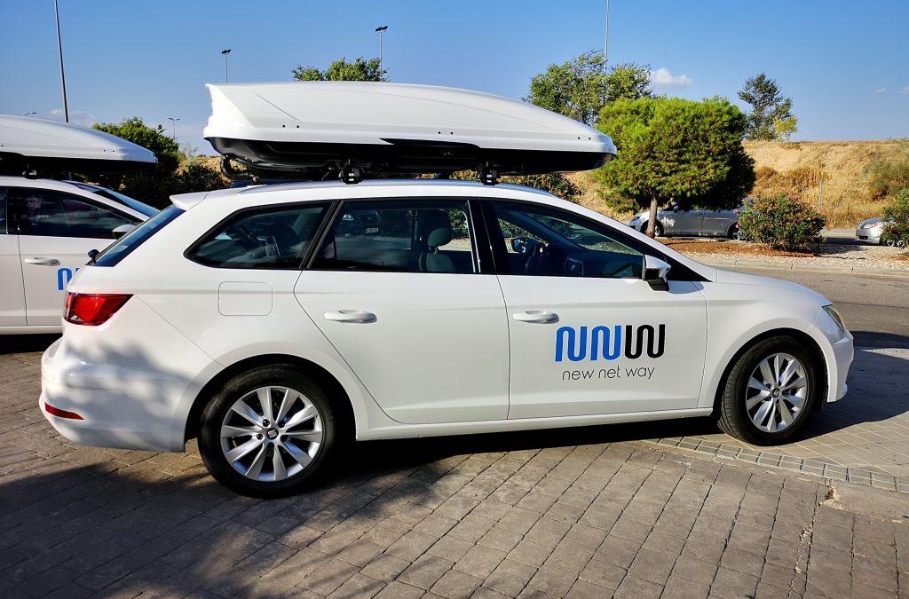 Presentación Oficial de nueva flota de vehículos de NEW NET WAY