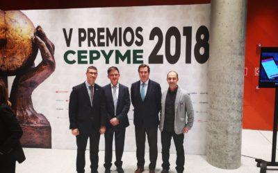 Acto de entrega V Premios CEPYME 2018