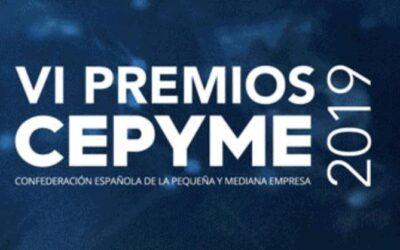 NNW Finalista de los VI Premios CEPYME 2019